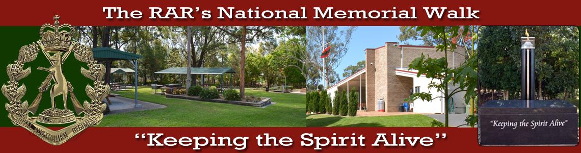 History – Building the RAR National Memorial Walk